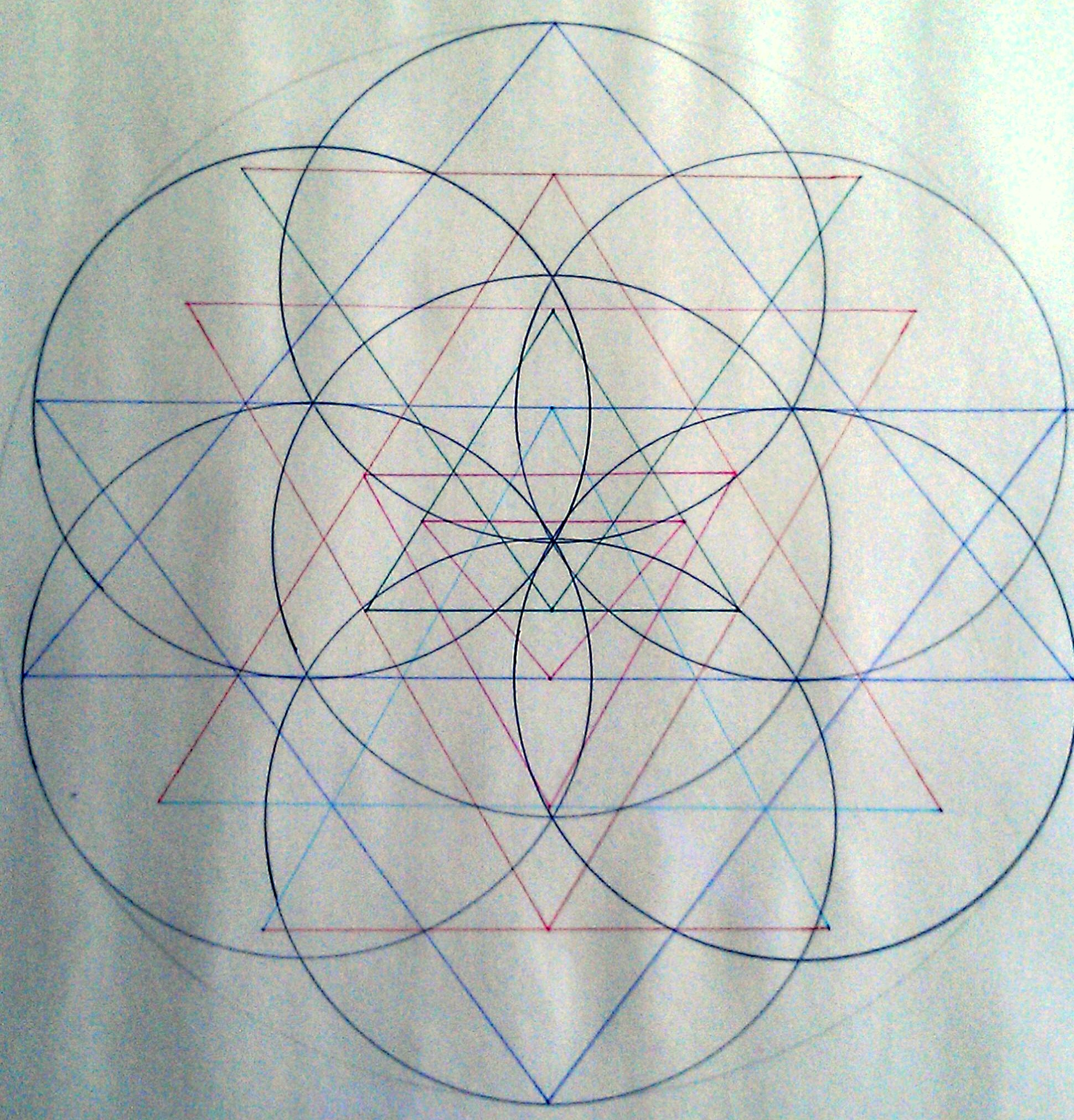 Sri Yantra Flower of Life